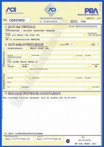 olasz autó honosítás törzskönyv