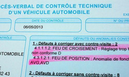 francia műszaki vizsga